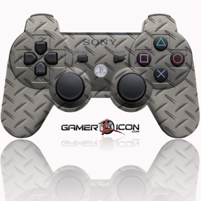 PS3 Heavy metal modded controller