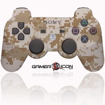 PS3 Modded Controller Desert Camo