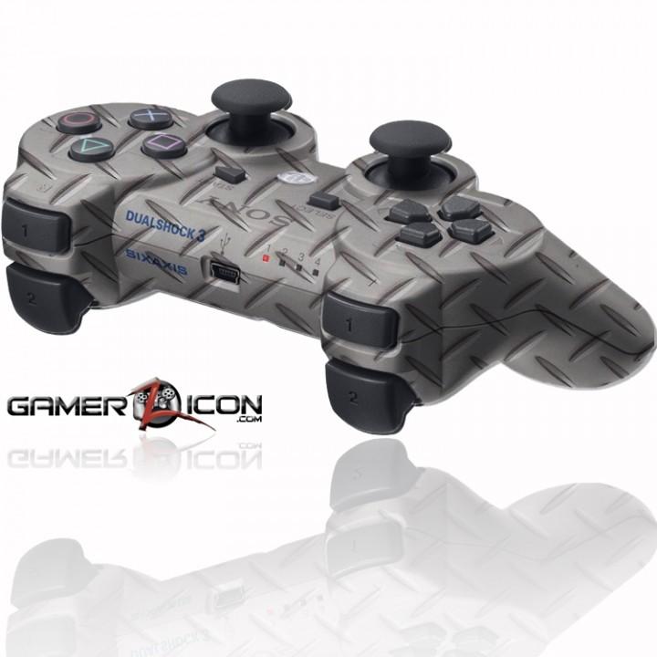 PS3 Rapid Fire Controller Gun Metal