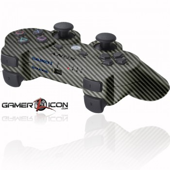 PS3 Rapid Fire Controller carbon fiber