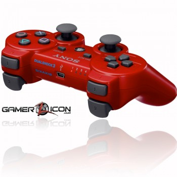 PS3 Rapid Fire Controller red