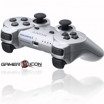 PS3 Rapid Fire Controller silver