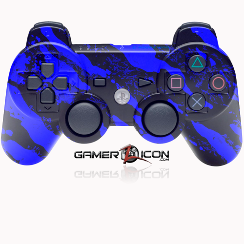 PS3 Savage Blue Controller