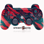 PS3 Savage Red Controller