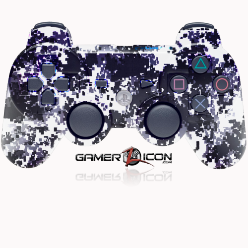 PS3 Winter Digital Camo