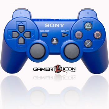 PS3 modded controller blue