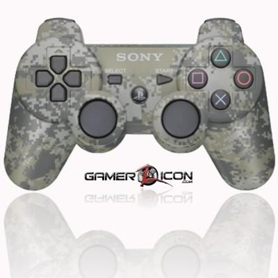 PS3 modded controller urban camo