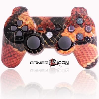 PS3 Modded Controller Snake Skin