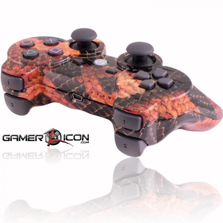 PS3 Rapid Fire Controller Snake Skin