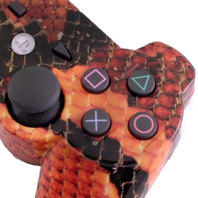PS3 Snake Skin Moded Controller