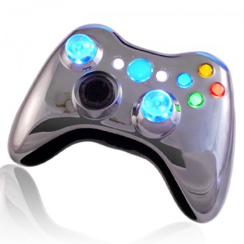 XCM Chrome Blue Controller