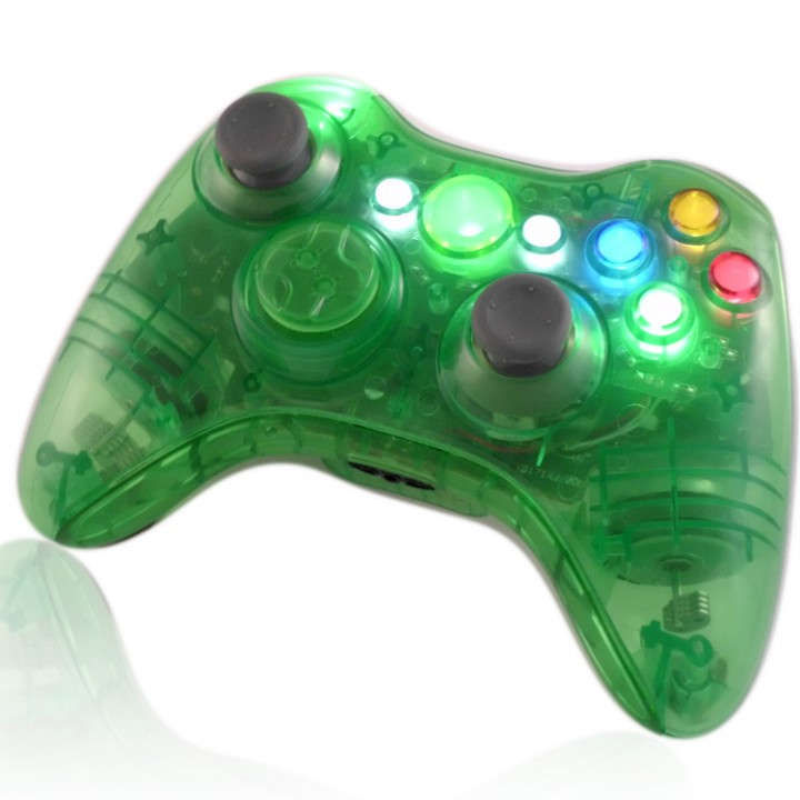 XCM Crystal Green controller