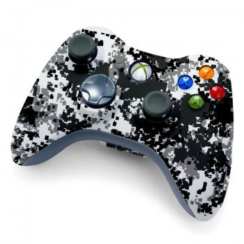 Xbox 360 Winter Camo Controller