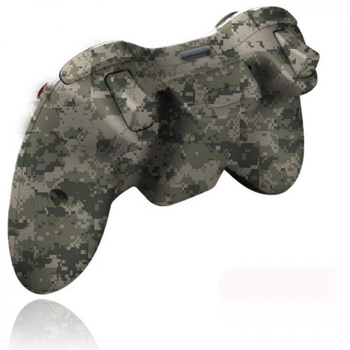 Xbox 360 army camo rapid fire controller