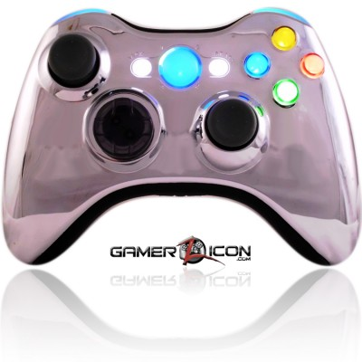 Xbox XCM Chrome Blue Controller