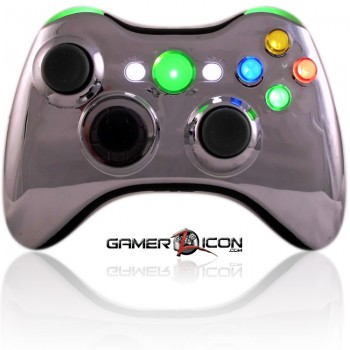 Xbox XCM Chrome Green Controller
