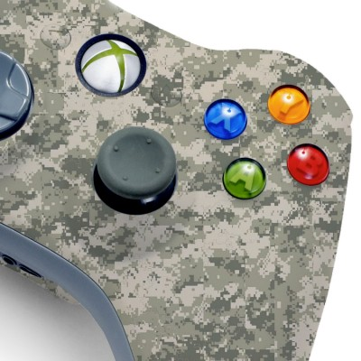 xbox 360 army camo modded controller