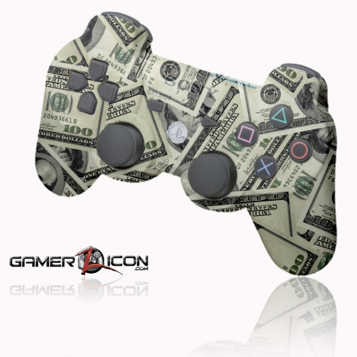 PS3 100 Dollar Money rapid fire controller