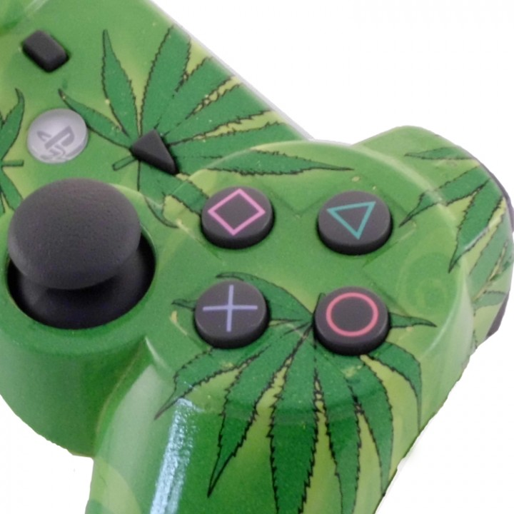 PS3 420 Smokers Delight Modded Controller