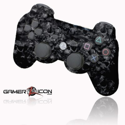 PS3 Dark Skulls Rapid FIre Controller