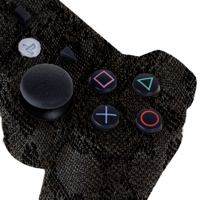 PS3 Dark Snake Skin modded controller