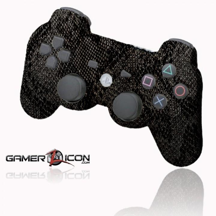 PS3 Dark Snake Skin rapid fire controller