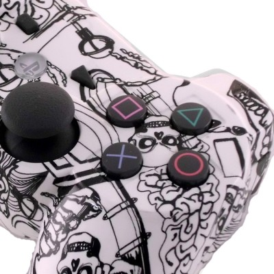 PS3 Koonky Skullz Modded Controller