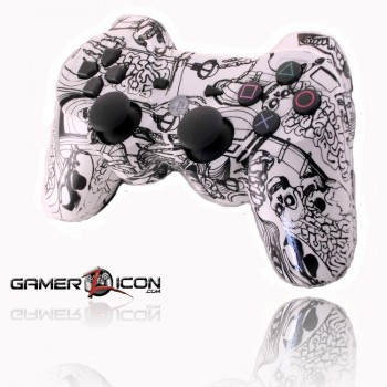 PS3 Koonky Skullz rapid fire controller