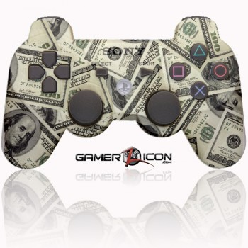 PS3 Modded Controller 100 Dollar Money