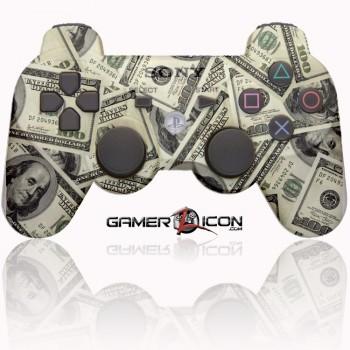 PS3 Modded Controller 100 Dollar Money