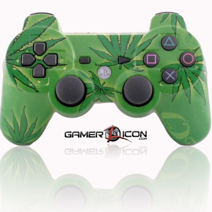 PS3 Modded Controller 420 Smokers Delight