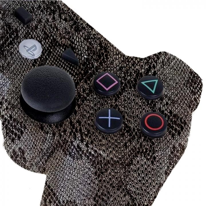 PS3 Reptile Snake Skin Modded Controller