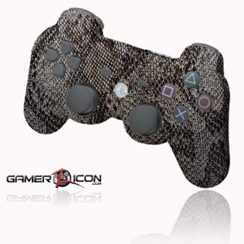 PS3 Reptile Snake Skin Rapid Fire Controllerjpg