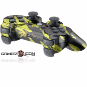 PS3 Savage Gold Modded Controller