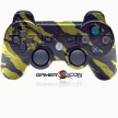 PS3 Savage Gold Rapid Fire Modded Controller