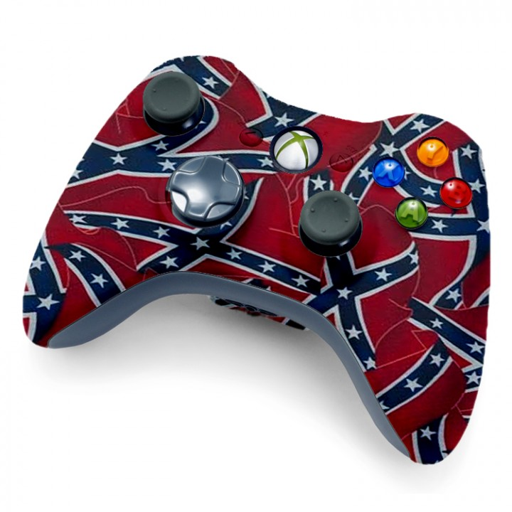 Xbox 360 Confederate Flag Controller