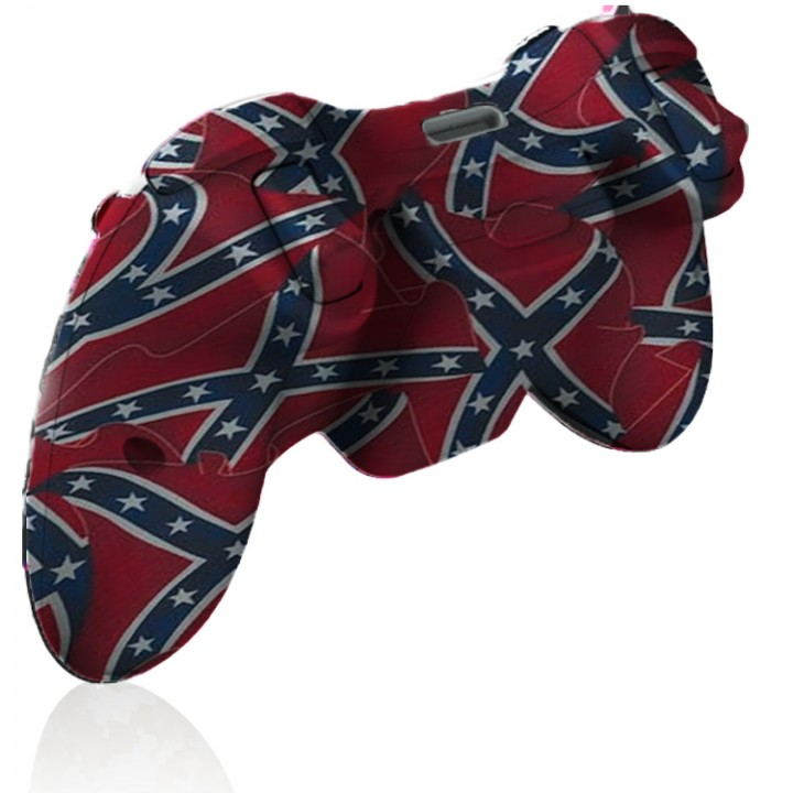Xbox 360 Rapid Fire Confederate Flag Controller