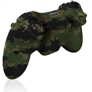 Xbox 360 Rapid Fire Digital Woodland Camo Controller