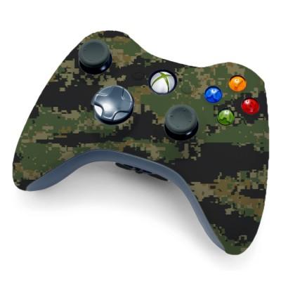 Xbox Digital Woodland Camo Controller