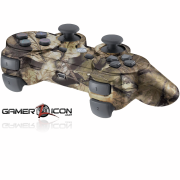 PS3 Brown leaf Camo Modded Controller