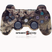 PS3 Modded Controller Brown Leaf Camo