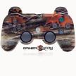 PS3 Modded Controller Orange Leaf Camo