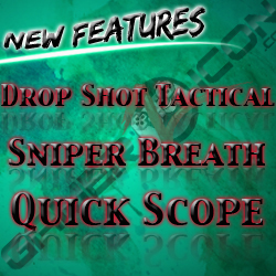 PS3 Modded Controller Quick Scope Sniper Breath Drop Shot