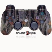 PS3 Modded Controller Woods Camo