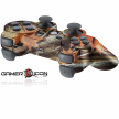 PS3 Orange Leaf Camo Modded Controller