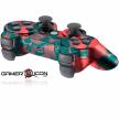 PS3 Red Skull Modded Controller