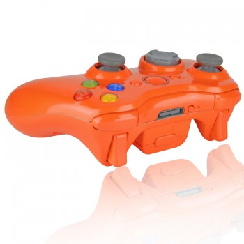 Xbox 360 Glossy Orange Modded Controller