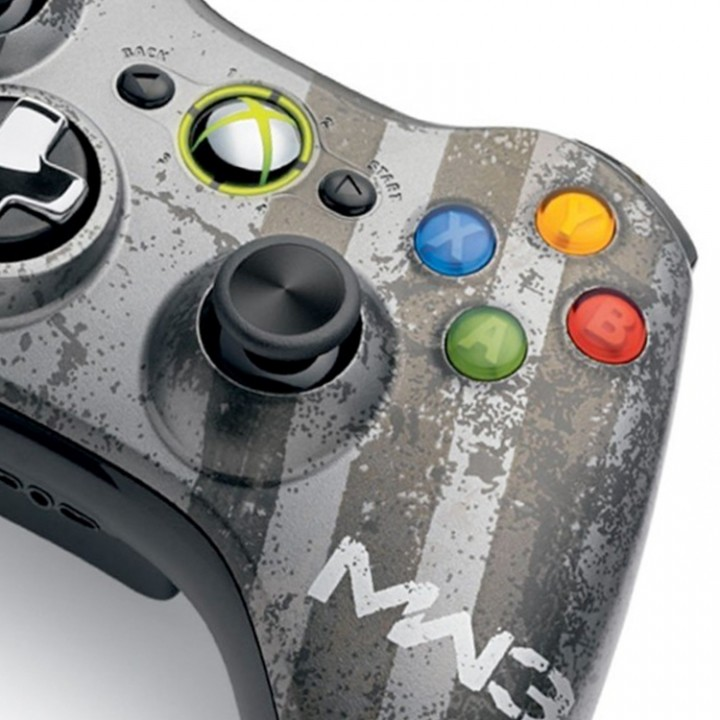 Xbox 360 MW3 modded controller