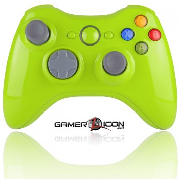 Xbox 360 Modded Controller Glossy Apple Green