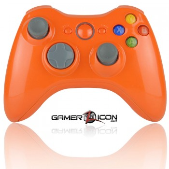 Xbox 360 Modded Controller Glossy Orange